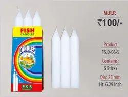 Plain Short Candles 15.0-06-S