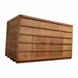 Brown Wooden Packaging Box