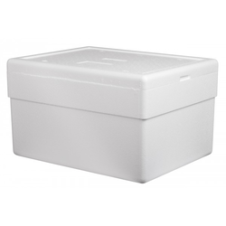 White B5 Type Thermocol Box