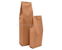 Brown Paper Side Gusset Bags