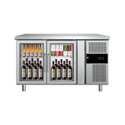 Stainless Steel Bar Refrigerator