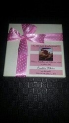 Customized Birth Announcement Chocolate Box