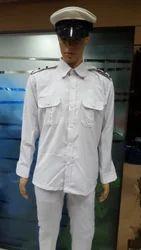 Black & White Driver Uniform- Driver U-12