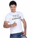 Trust Me I Am An Engineer Hammer White Men T Shirt