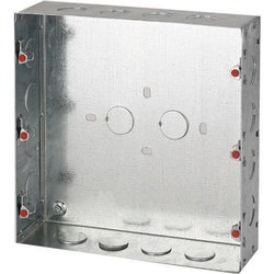 Steel Square GI Electrical Box, Dimension: 8x8 Inch