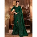 Party Wear Embroidery Silk Saree