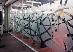 Glass Wall Partition