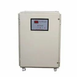 Three Phase Copper Voltage Stabilizer, Current Capacity: 21a