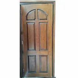 Hinged Brown Interior Wooden Door