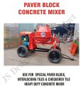 Paver Block Concrete Mixture