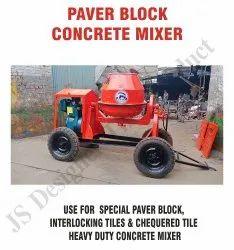 electric or diesel engine green Paver Block Concrete Mixture