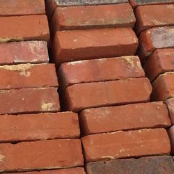 Rectangular Construction Red Bricks, Size: 8 In. X 4 In. X 4 In., for Partition Wall