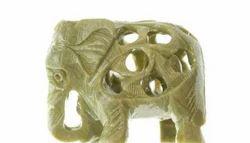 Soapstone mini Carved Elephant