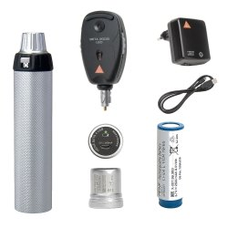 Ophthalmoscope with Rechargeable Handle