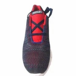 Deccap Black And Red Men''S Casual Mesh Shoes, Size: 6-10