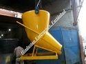 Tower Crane Banana Center Discharge Concrete Bucket