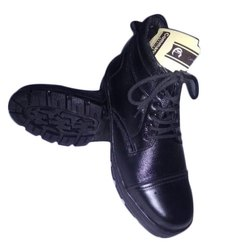 Commando Formal Mens Black Leather Shoes, Size: 5 - 21uk