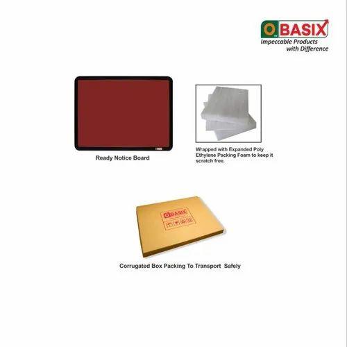OBASIX SPBMPCB90120 Pin-up Maroon (Notice Board) 3x4 Feet
