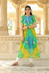 Lahariya Georgette Anarkali Pattern Cotton Inner Kurtis