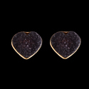 14K Gold Plated Small Stud Earrings For Girls