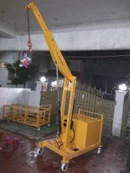 Floor Crane Counter Balanced