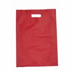 Red HDPE D Cut Bag, for Shopping