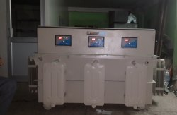 Servo Voltage Stabilizer Three Phase Oil Cooled