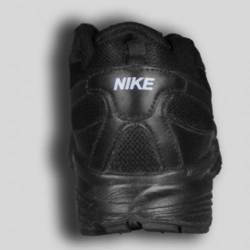 Nike Black School Shoes with Lace, Size