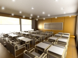 Stainless Steel Colleges Interior Designing Services