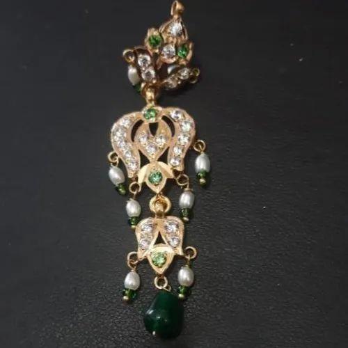 R K Jewellers Rajputi Gold Designer Earings Rs 19000 Pair Id