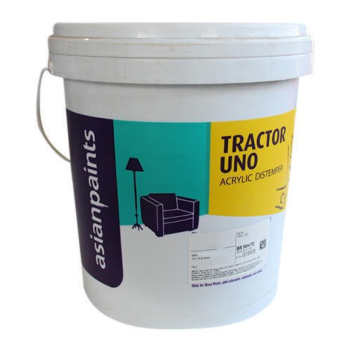 Asian Paints 5 Kg Tractor Uno Distemper Asian Paint Packaging Type Bucket Rs 290 Bucket Id 21022716362