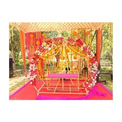 Raj Engineering Works Wedding Stage And Table