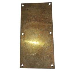 Golden High Grade Copper Plate