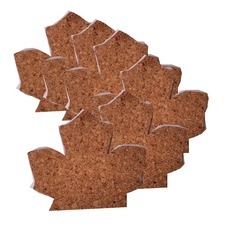 Cork Leaf Coaster