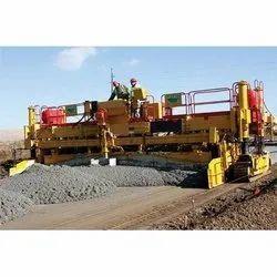 Vogl Slip Form Concrete Paver Machine Rental Services, For Road Construction Work, Model Name/Number: 2016