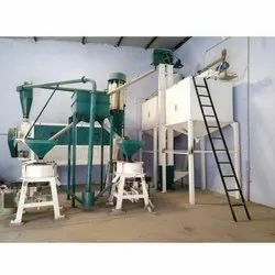 10 Ton Industrial Flour Mill Machine