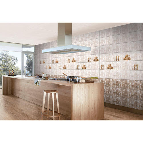 Ceramic Designer Kitchen Wall Tile Thickness 5 10 Mm Rs 135 Box Id 20386784333