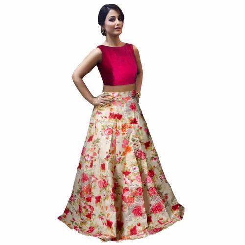 a6f34783c2 Party Wear Stitched Ladies Designer Lehenga Choli, Rs 250 /piece ...