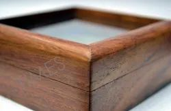 Brown Wooden Gift Box