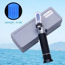 Salinity Refractometer 0-100% Aquarium & Seawater Salinity Meter Seawater Refractometer