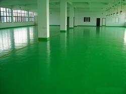 Green Polyurethane Epoxy Floor Coating
