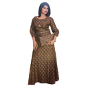 Ladies Fancy Woolen Long Dress