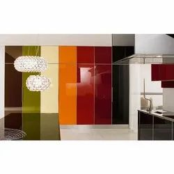 Transparent Lacquered Glass, Thickness: 5-18mm