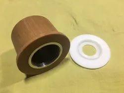Rewinder Spares For TFO's Textile Spinning Parts, For Belt Pressure Roller, Model Name/Number: Heli