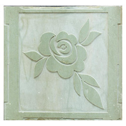 Mint Sandstone Flower CNC Work