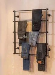 Jeans and denims Rack