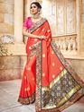 Designer Heavy Silk Saree