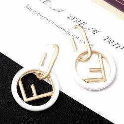 Girls Party Branded Dangler Earrings