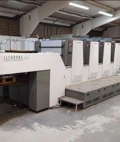 Komari LA 437 Four Colour Offset Printing Machine
