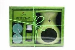 AuraDecor Lemongrass Premium Fragrance Gift Set